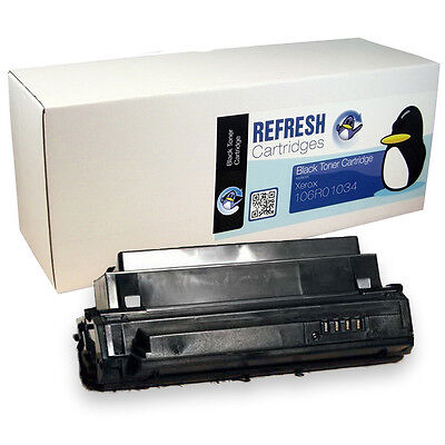 Refresh Cartridges Black 106R01034 Toner Compatible With Xerox Phaser 3420 3425