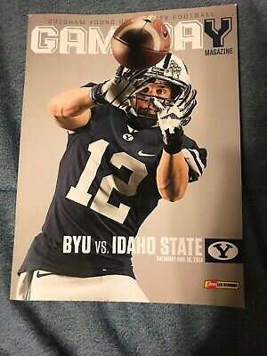 2013 BYU VS. Idaho State Collage Football Game Program NCAA Cougars University
