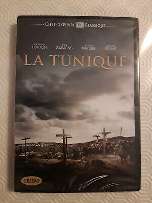 La tunique : Richard Burton, Jean Simmons .... - DVD NEUF SOUS BLISTER