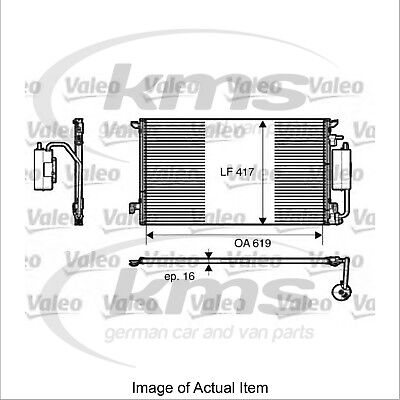 New Genuine VALEO Air Conditioning Condenser 817809 Top Quality