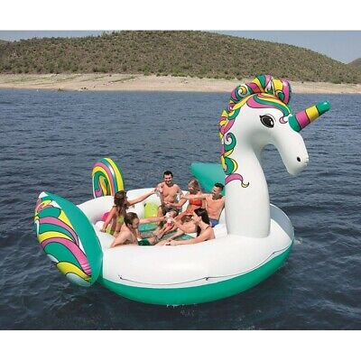 BOUEE GONFLABLE GEANTE LICORNE Bestway 590 cm x 404 cm