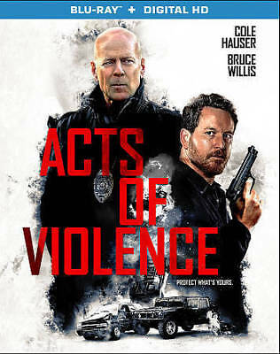 Acts Of Violence (2017) [Blu-ray] DVD, Cole Hauser, Shawn Ashmore, Ashton Holmes