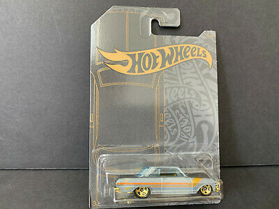 Hot Wheels Chevy II Satin and Chrome GHH73-999A 1/64