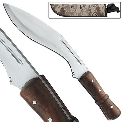 Congolian Jungle Full Tang Hunting Kukri Hand Forged Outdoor Machete