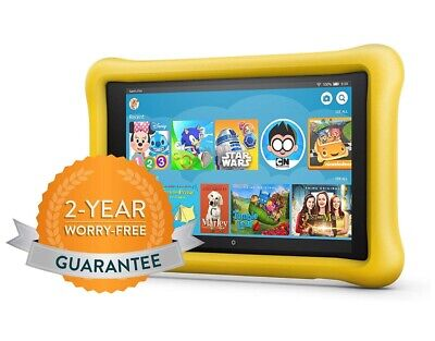 Brand NEW - Amazon Kindle Fire HD 8 32 GB - Kids Edition Tablet Yellow
