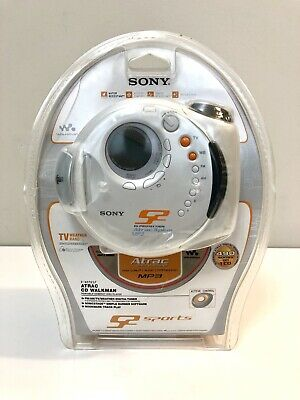 NEW RARE Sony Walkman D-NS921F CD-R/RW AM/FM Tuner CD/MP3 Player G Protection