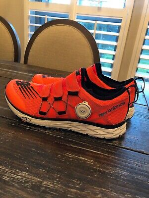 timeless design 71578 72cc0 NEW BALANCE 1500 T2 Boa Fit Dragonfly Orange Black Running Shoes NEW Womens  9.5