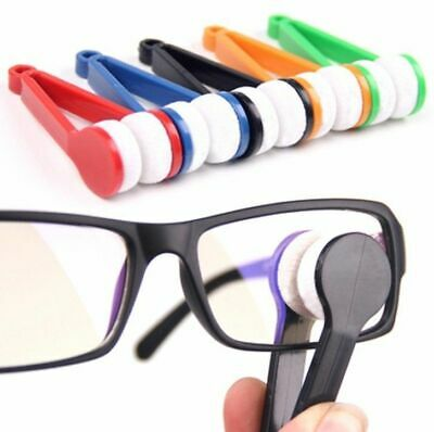 Gadgets Eyeglass Wipe Glasses Spectacles Cleaner Brush Wiper Sunglasses Cleaning