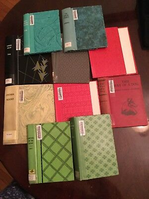 Lot of 10 Patterened Book Covers Only Junk Journals Art Crafts Scrapbooking
