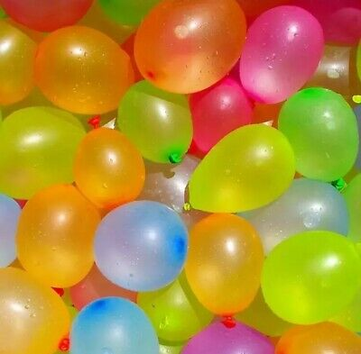 Water Balloons Total-300 ballons Lot pack Water Sports and Summer Fun Party USA