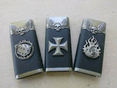 Two Skull And Wings Torch Lighters for $5.00.  New Never Used