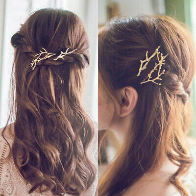 Women Runway Tree Branch Hairpins Hair Fascinator Bobby Pins Girl Gifts