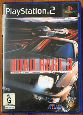 Road Rage 3 PAL Playstation 2/PS2 Complete Game Not Sealed + Free Post