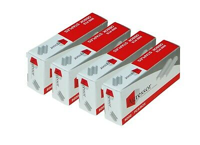 4x Agressor staples to suit Stanley Bostitch - 6 mm B8 Staples (5000/ 1Pack)