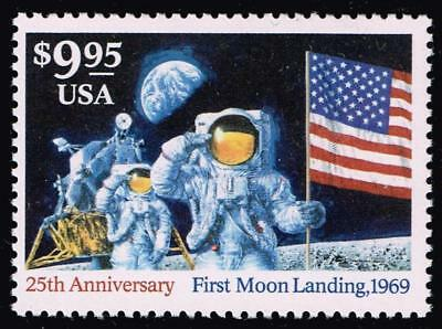 1994 $9.95 Landing on the Moon, Express Mail Scott 2842 Mint F/VF NH