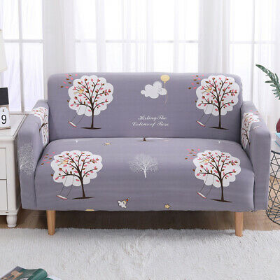 1-4 Seater Spandex Slipcover Sofa Cover Stretch Couch Cover Furniture Protector