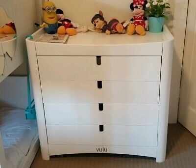 Love N Care Vulu Change Table And Chest Of Drawers White