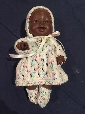 Hand Knitted Dolls Clothes For 8 Inch Berenguer Doll