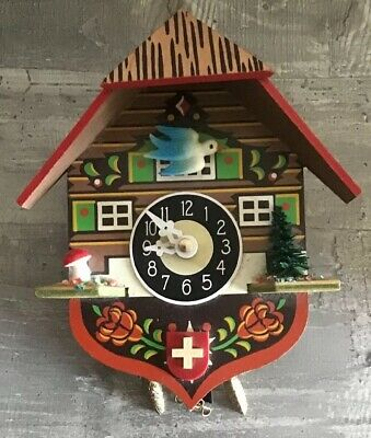 Black Forest Cuckoo Clock ENGSTLER Germany, Fully Working