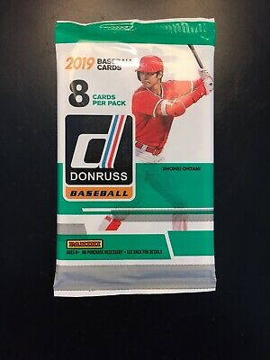 2019 Panini Donruss HOBBY Baseball THICK Auto Autograph Patch OR Relic Hot Pack