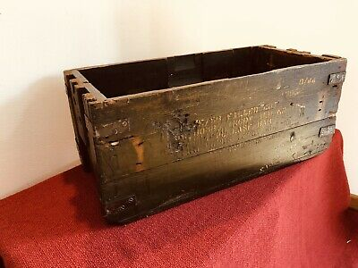 Vintage Antique Wooden Military Box/crate Table,Log Box.