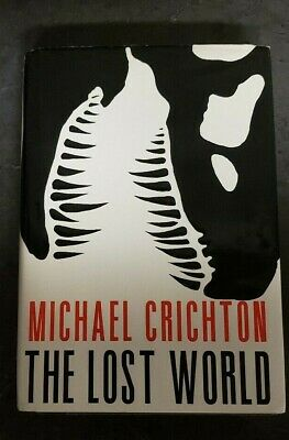 The Lost World by Michael Crichton (1995, Hardcover) First Trade Edition