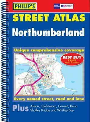 Philip's Street Atlas Northumberland: Spiral Edition (Philip's St by  0540087548