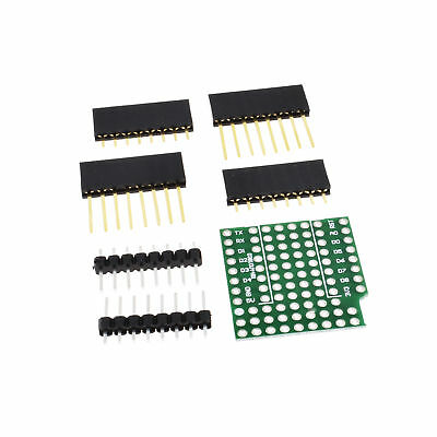 ProtoBoard Shield WeMos D1 Double Sided perf Board Compatible ATF