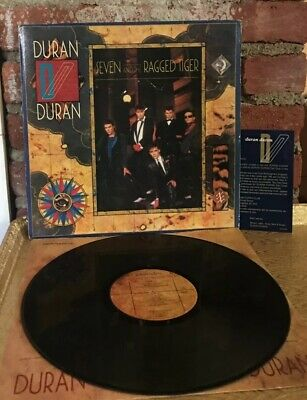 Duran Duran - Seven and the Ragged Tiger Capitol ST 12310 LP Vinyl Record Album