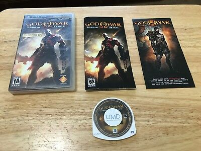God of War: Ghost of Sparta Sony Playstation Portable PSP System Complete