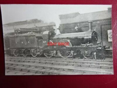 Photo  Darkroom - (2) Gnr Loco No 817 Great Northern Railway
