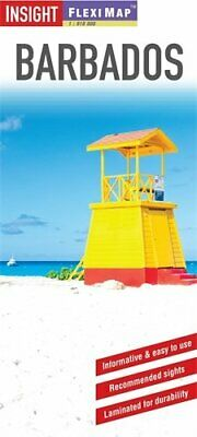 Insight Flexi Map: Barbados (Insight Flexi Maps) by INSIGHT GUIDES 178005694X