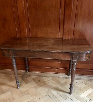 Reduced Price Antique D End Mahogany Georgian Occasional Side End Table