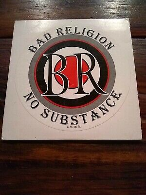 Bad Religion No Substance Promotional Limited Edition CD d1