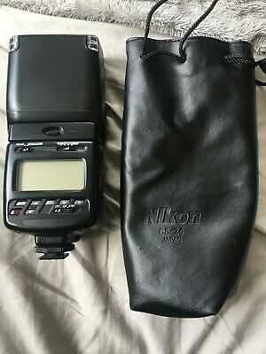 nikon sb 26 speedlite flash unit and nikon ss 24 pouch