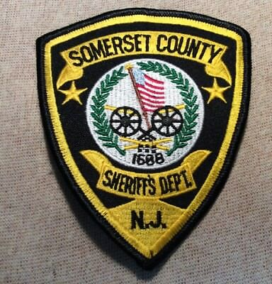 SOMERSET COUNTY NEW Jersey Police Patch (Sheriff's Dept ) un