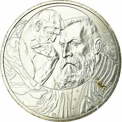 [#730066] France, 10 Euro, Auguste Rodin, 2017, SUP, Argent