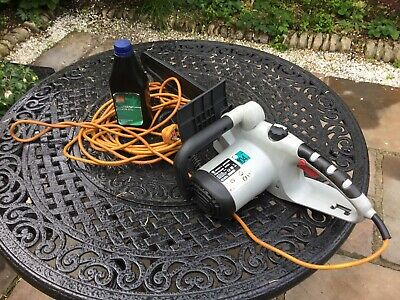 SPEAR AND JACKSON CORDED ELECTRIC CHAINSAW FULLY WORKING 40cm BAR 2000w