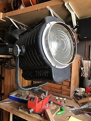 Antiguo Foco Cine Sender Vintage Fresnel Luz Spot Light Cinema