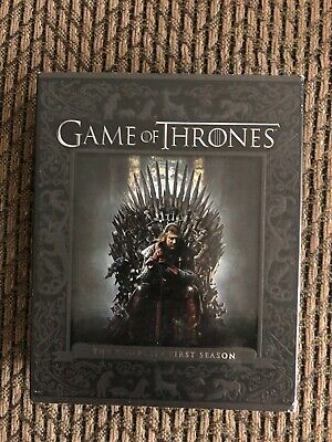 GAME OF THRONES SEASON 1 (Blu-ray, 2014, 5-Disc Set) Like NEW