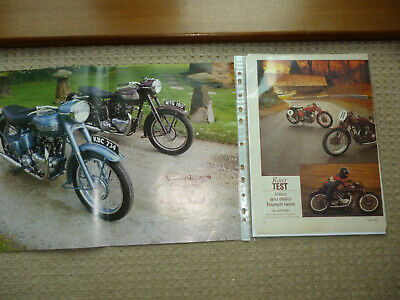Triumph Speed Twin technical & historical literature- increased to 9 items