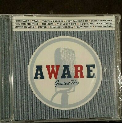 Aware Greatest Hits by Various Artists CD New John Mayer Hootie Train