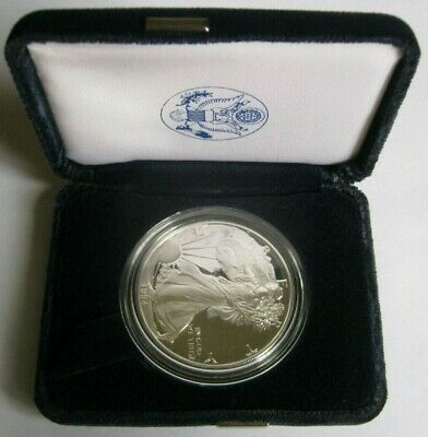 1994-P Key-Date PROOF AMERICAN SILVER EAGLE COIN ~with U.S. Mint Box & COA~