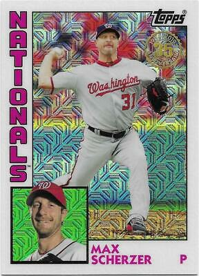 2019 Topps Series 2 - 1984 Silver pack/chrome retro - You Pick - SH max $2.50