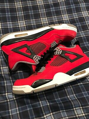 cd226d3ae20 AIR JORDAN RETRO 4 IV 2013 Toro Bravo Red Shoes Size Mens 9.5 ...