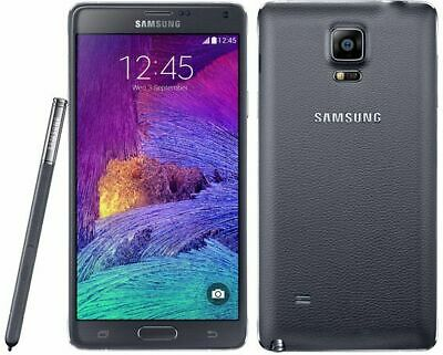 Samsung Galaxy Note 4 SM-N910A 32GB Black (AT&T Unlocked) 9/10 Heavy Burn Image