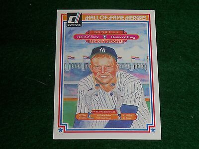 "mickey mantle  (new york yankees-of) 1983 donruss ""hall-of-fame heroes"" CARD #43"