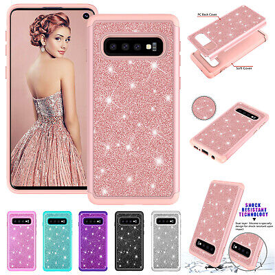 For Samsung S10 Plus S10 Case Luxury Heavy Duty Bumper Silicone Shockproof Cover