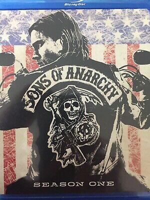 SONS OF ANARCHY - Season 1 3 x BLURAY Set BRAND NEW! First Series One *Region A*