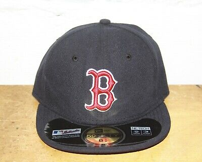 wholesale dealer 1cbab 75874 New Era 59Fifty Cap MLB Boston Red Sox Boys Youth Size Navy Blue Red Hat 6